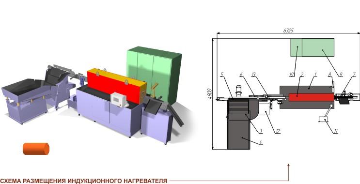 Индукционный нагреватель IH 500 (модель IH 500-A-1-1-1))