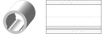 Керамические втулки исполнение 2