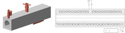 Керамические блоки исполнение 1