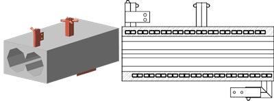 Керамические блоки исполнение 2