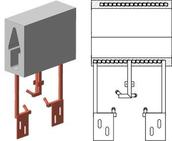 Керамические блоки исполнение 4