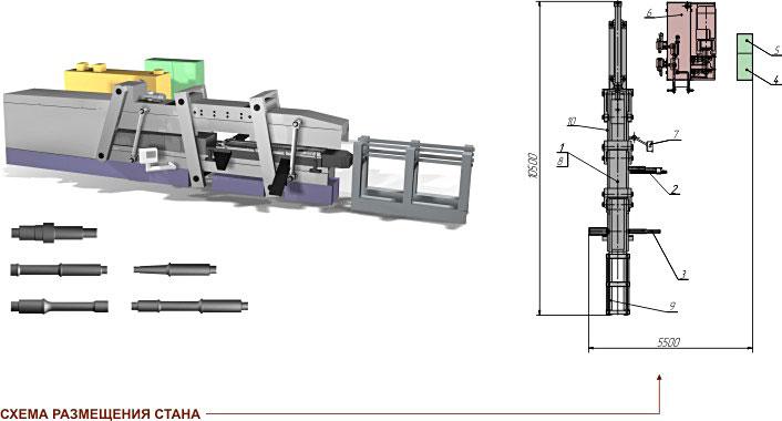 Прокатный стан поперечно-клиновой прокатки SP 4200-2