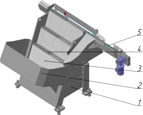 Автоматическое бункерное устройство типа bd-1
