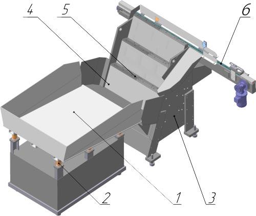 Автоматическое бункерное устройство типа bd-2