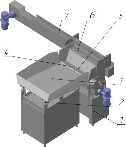 Автоматическое бункерное устройство типа bd-3